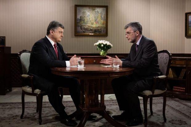 Порошенко дал интервью