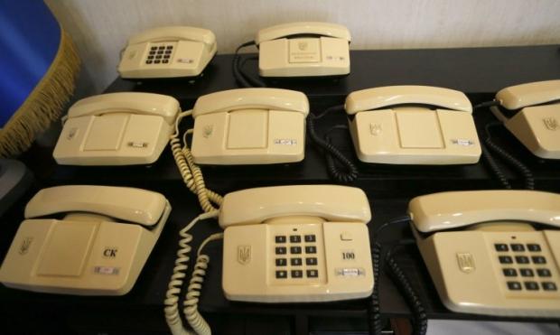Сейчас домашний телефон имеют 5,5 миллионов украинских семей в городах / Фото УНИАН