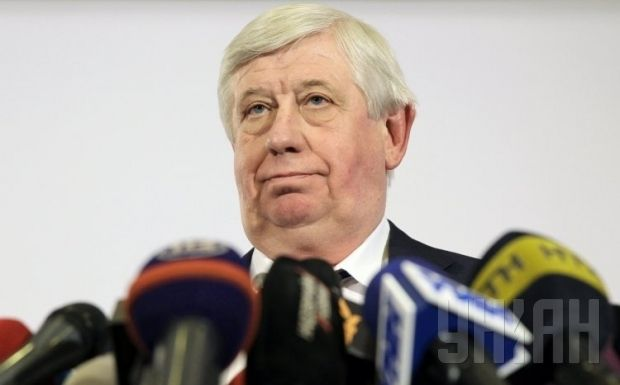 Shokin announces the creation of a register of criminal cases against Revolution of Dignity activists / Photo from UNIAN
