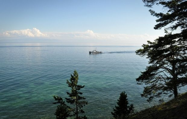 Lake Baikal in south-east Siberia is the deepest lake in the world / Photo from Flickr User karawho