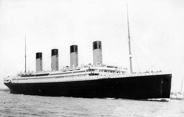 """У 1912 році британський трансатлантичний пароплав """"Титанік"""" зіткнувся з айсбергом / фото wikimedia.org"""