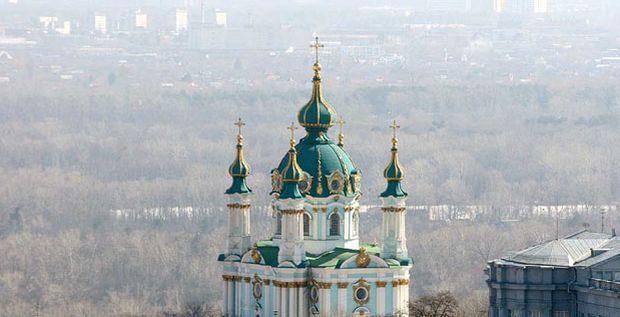 Законопроектом предлагается передать в постоянное пользование Вселенскому патриарху Андреевскую церковь / фото dt.ua