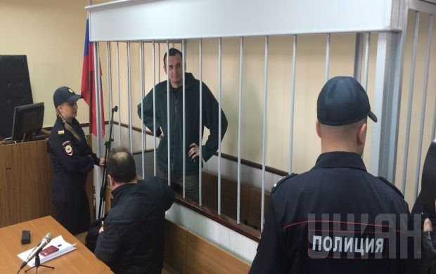 Sentsov's indictment was extended with charges of illegal possession of firearms / Photo from UNIAN