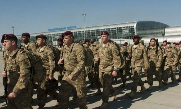 Американские десантники прибыли в Украину / The Official Home Page of the United States Army