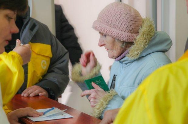 Работает более 20 пунктов выдачи помощи Гуманитарного штаба Рината Ахметова / Фото: Пресс-служба Гуманитарного штаба Рината Ахметова