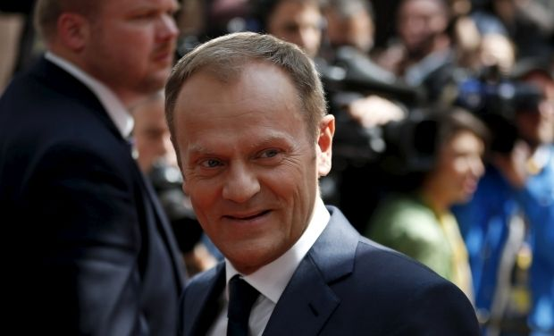 Президент Европейского Совета Дональд Туск \ REUTERS