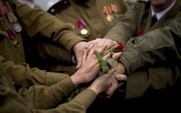 День победы 2021 Украина / фото REUTERS