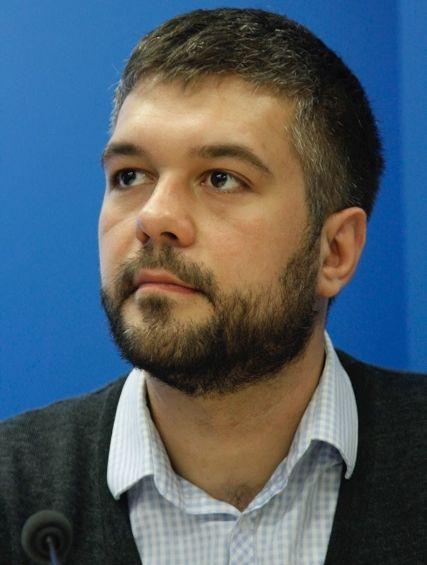 Один из лидеров Ассоциации зеленых Украины Ярослав Задесенец
