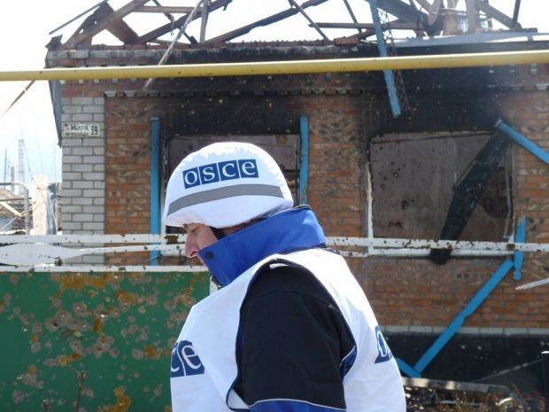 OSCE say not all heavy weapons have been withdrawn from Donbas / Photo from facebook.com/ato.news