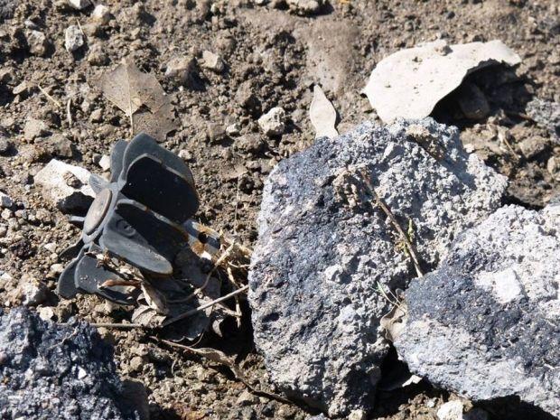Бойовики гатили з з артилерії калібру 152 мм / фото facebook.com/ato.news