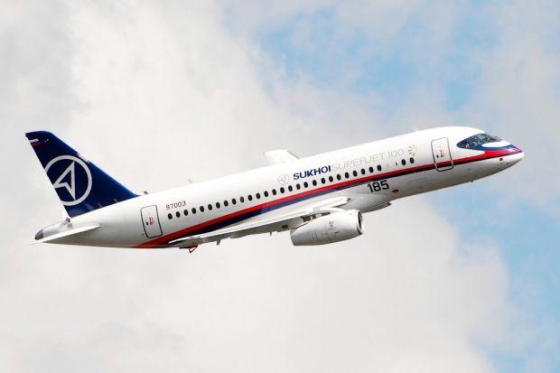 Sukhoi Superjet  / Wikimedia