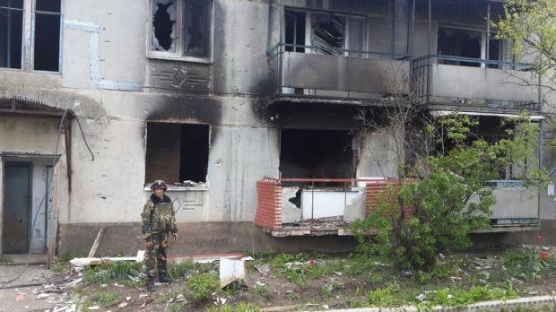 Боевики продолжают обстреливать Пески / facebook.com/kiev1.mvs