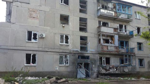 Поселок Пески Донецкой области превратился в необитаемые руины / facebook.com/kiev1.mvs
