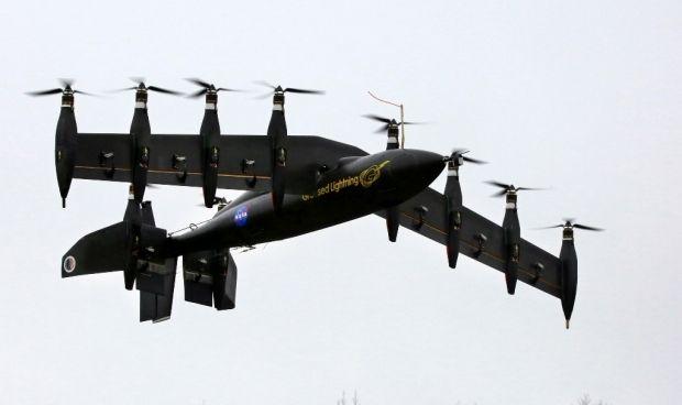 Беспилотник может летать на рабочей высоте более 20 километров / иллюстрация NASA