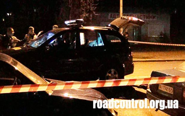 A picture from the site of the crime / Photo from roadcontrol.org.ua