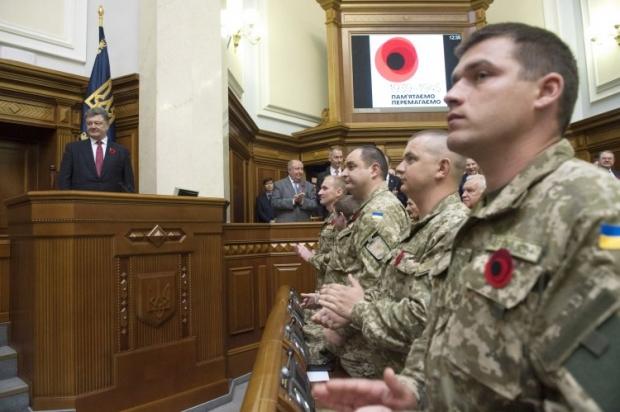 Понад 300 тисяч бійців в Україні мають статус УБД / фото: УНІАН