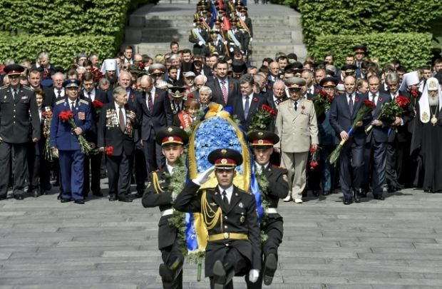 Ukraine is celebrating the 70th anniversary of the victory in WWII on May 9 / Photo from president.gov.ua
