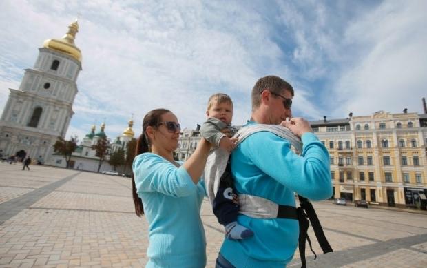 Всенародный День отца в Украине - 16 сентября / фото УНИАН