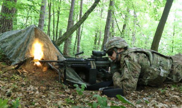Training under way on the Yavoriv range / Photo from UNIAN