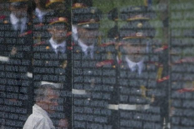 День памяти жертв политических репрессий - Быковнянский лес / фото УНИАН