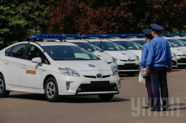 Police patrol vehicles with hybrid engines will be used in Kyiv and Odesa / UNIAN