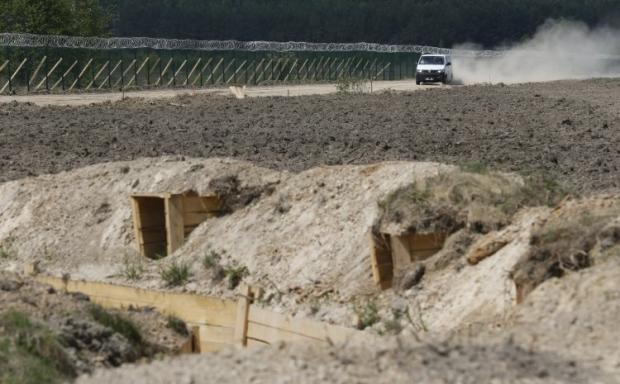 по состоянию на начало 2017 года, выполнено только 12% работ по обустройству границы / Фото УНИАН