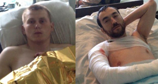 Aleksandr Aleksandrov (left) and Yevgeniy Yerofeyev (right) / Photos from censor.net.ua