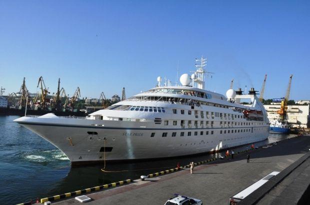 У 2020 році порт планував 11 разів прийняти морські круїзні лайнери/ фото: Одеський морпорт