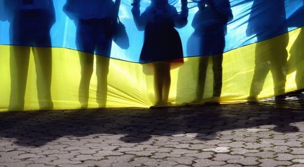 The majority of Ukrainians interviewed prefer a unitary Ukraine / Photo from UNIAN