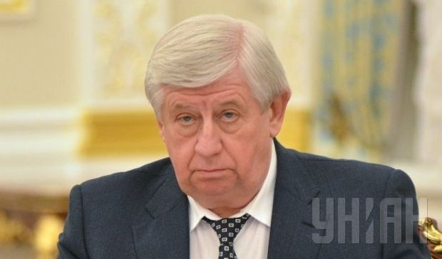 [Photo caption] Chief prosecutor Shokin supports the right to bear arms in Ukraine / Photo from UNIAN
