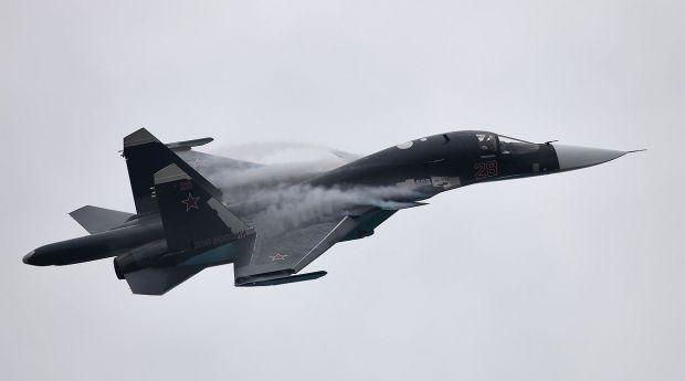 Два винищувачі-бомбардувальники Су-34 зіткнулися в небі / Vitaly V. Kuzmin / vitalykuzmin.net