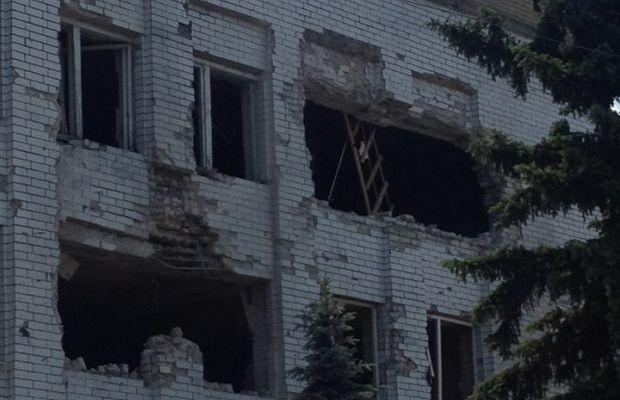Из-за обстрелов обесточены Марьинку / Vyacheslav Abroskin / facebook.com