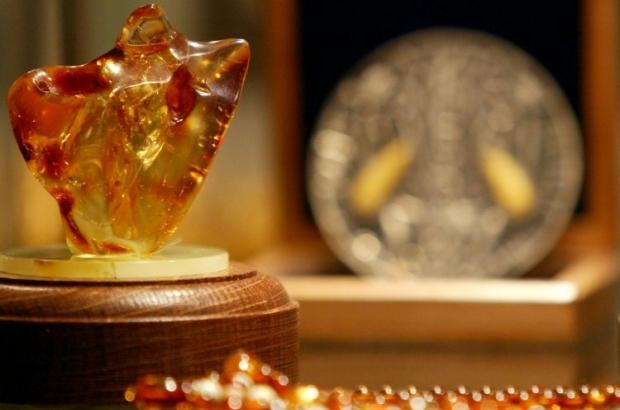 Вес янтаря, в котором нашли окаменелость - чуть более 79 грамм / Фото УНИАН