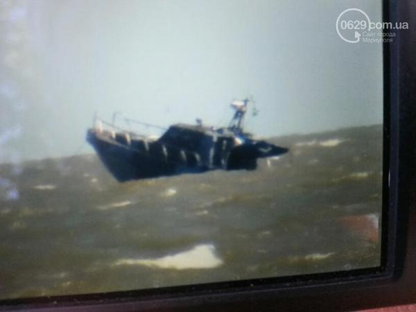The cause of the explosion of a Ukrainian coastguard motor boat on Sunday has not yet been determined / krymr.org