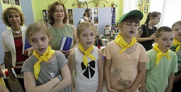 Из-за сильного задымления существовала угроза для детей / Фото: kievcity.gov.ua