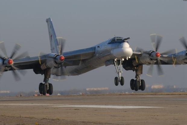 ВозлеАляски перехватили российские Ту-95 / worldavia.net