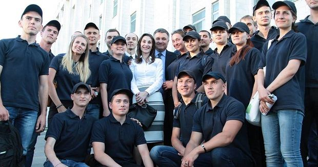 У Дніпропетровську проходить відбір до нової патрульної поліції / facebook Арсена Авакова