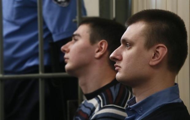 """Екс-""""беркутівців"""" судять за розстріли на Майдані / фото УНІАН"""