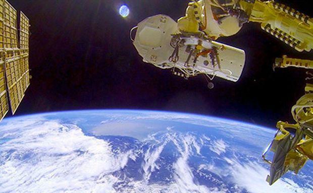 На МКС снова возникли проблемы / Фото: Urthecast