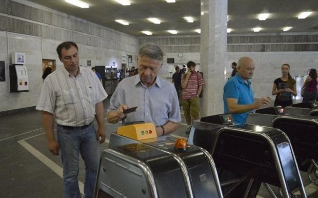 На некоторых станциях метро могут ограничить вход пассажиров / Фото УНИАН