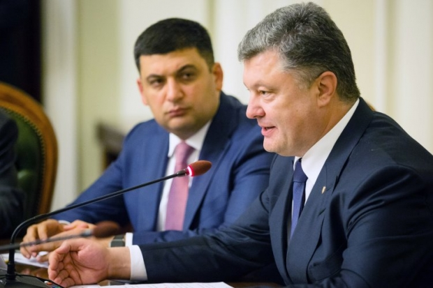 Poroshenko says he would prefer to see incumbent parliament speaker Groysman in the premier's office / Photo from UNIAN