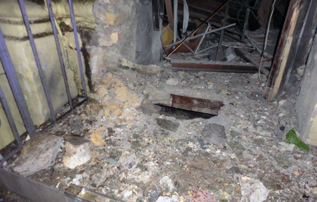 Взрывом повреждено соседнее кафе /mvs.gov.ua