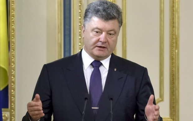 President Poroshenko says he is waiting proposals from Zakarpattia Governor Moskal as to restoring order in the region / Photo from UNIAN