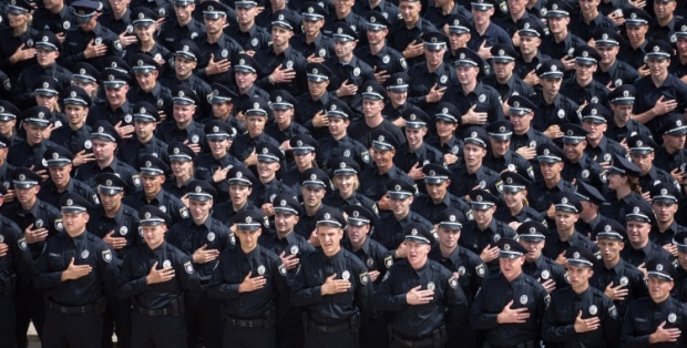 The Interior Ministry says new patrol police will start work in Odesa as of August 20 / Photo from UNIAN