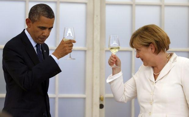 Барак Обама та Ангела Меркель / REUTERS