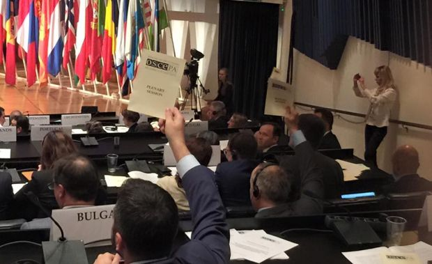 The OSCE Parliamentary Assembly calls on Russia to
