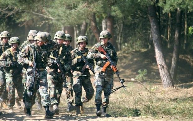 Цьогоріч до проведення навчання залучена безпрецедентна кількість військовослужбовців / Фото УНІАН