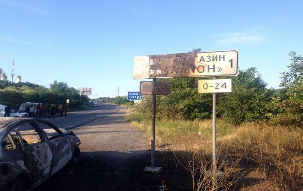 Shootout in Mukacheve occurred on July 11 / facebook.com/Mustafanayyem
