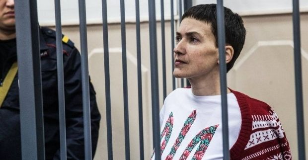An indictment against Savchenko was endorsed and forwarded to the Donetsk City Court in Russia's Rostov region / Photo from facebook.com/Batkivshchyna