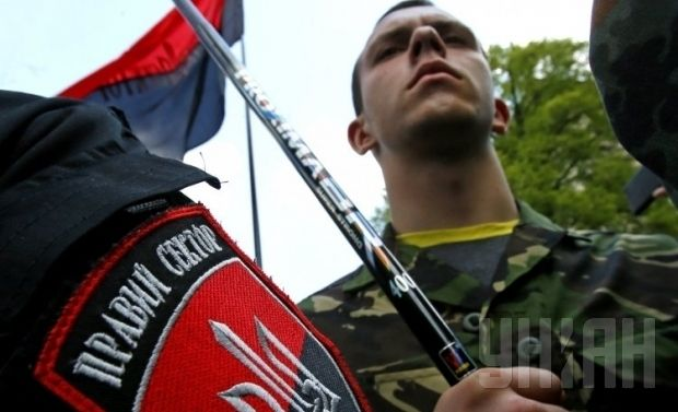 Yarosh proposes to grant amnesty to the Right Sector fighters involved in Mukacheve conflict / Photo from UNIAN